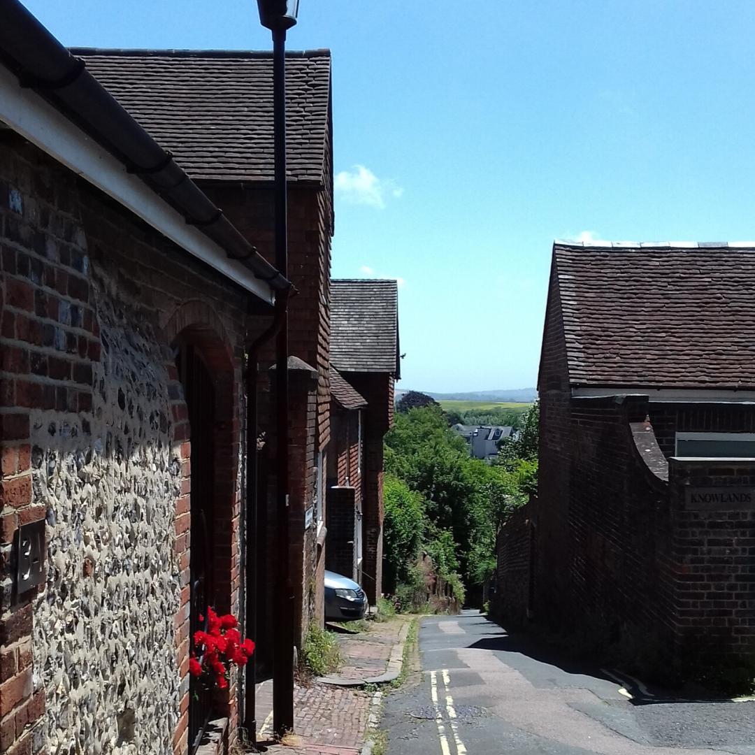 A view down St Martins
